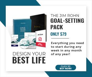 Jim Rohn Goal Setting Pack Writing A Book Success Planner Leadership Skills