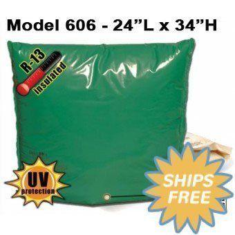 Backflow Insulation Bag Blanket 24 L X 34 H Dekorra 606 Freeze Protection Well Tank Insulation