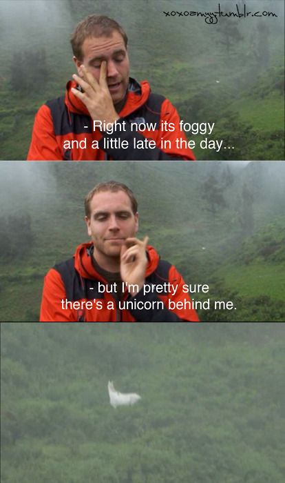 josh gates and a unicorn -- probably my favorite moment ever in DT history :P i laughed so hard during this episode.