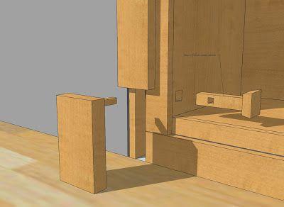 Hidden Latch | Doors | Pinterest | Garage Door Hinges, Garage Doors And  Doors