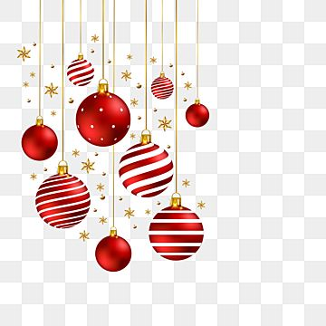 Christmas Red Balls Decoration Christmas Christmas Balls Png Christmas Balls Png And Vector With Transparent Background For Free Download Ball Decorations Red Ornaments Red Christmas