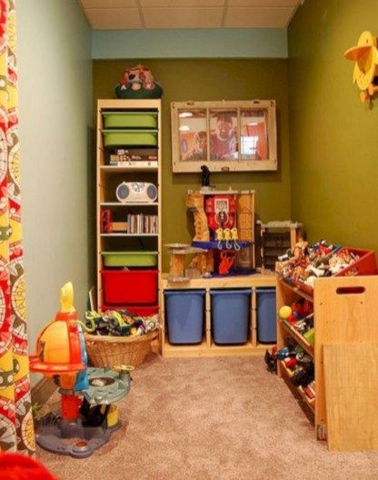 46 Small Playroom For Kids Small Playroom Toddler Playroom Playroom Layout Kids playroom designs amp ideas