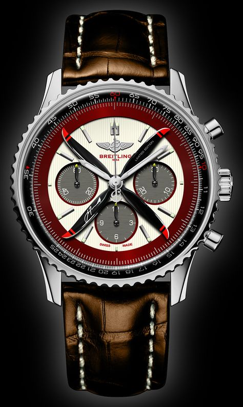 Breitling BR11056Z Navitimer 01 - Retro | John Travolta Limited Edition | by Beau Hudspeth Photography | The WatchTographer