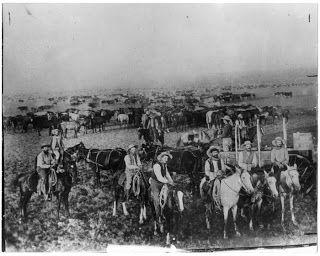 Cowboys On Xit Ranch Texas State Capitol Texas History Latrobe