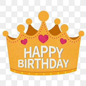 Golden Crown Birthday Hat Birthday Hat Png Free Material Crown Clipart Golden Yellow Png Transparent Clipart Image And Psd File For Free Download Birthday Hat Birthday Hat Png Birthday Cartoon