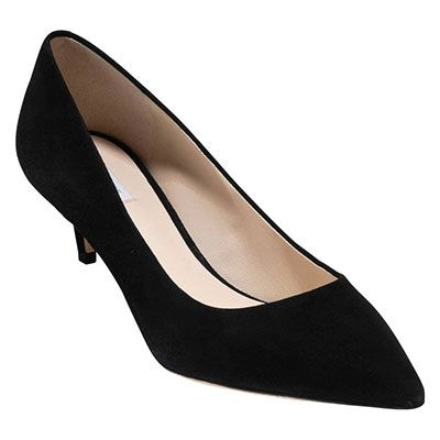 Cole Haan Vesta Kitten Heel Pump Black Heels Black Kitten Heel