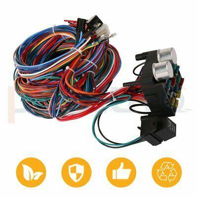 Advertisement Ebay 12 Circuit Hot Rod Wiring Harness New 12v