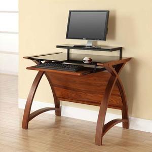 Jual Havana Curved Walnut Corner Tv Stand Jf701 Walnut Desks Curved Office Furniture Furniture