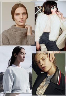 FW1718 - Megatrends - Womenswear - Materials & textures