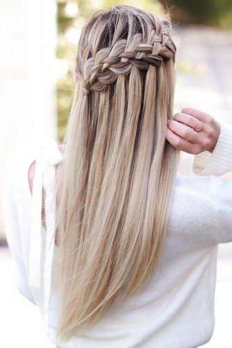 64 Incredible Hairstyles For Thin Hair Lovehairstyles Hair Styles Long Hair Styles Braided Hairstyles