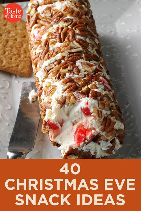 40 Christmas Eve Snack Ideas - Holiday Recipes: Menus, Desserts, Party Ideas from Food Network . Christmas Party Food, Christmas Dishes, Xmas Food, Christmas Appetizers, Christmas Cooking, Holiday Recipes, Vegan Christmas, Finger Foods For Christmas, Cooking Tips