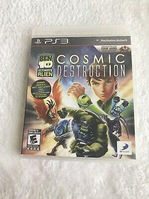 Ben 10 Ultimate Alien Cosmic Destruction For The Playstation 3