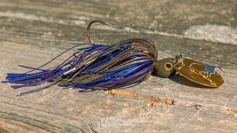 Bass Trout Fishing Lure Keitech Tungsten Model I Casting Jig 3//8 Oz Walleye