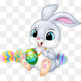Easter Bunny Easter Clipart Bunny Clipart Gray Rabbit Png Transparent Clipart Image And Psd File For Free Download Easter Clipart Easter Bunny Rabbit Png