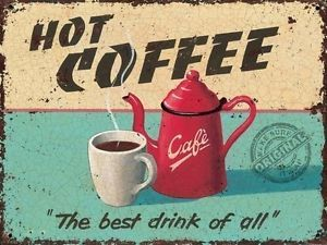 Vintage Kitchen Advertising Signs | ... Retro Vintage Drink, Kitchen Cafe Old Shop Food, Small Metal/Tin Sign