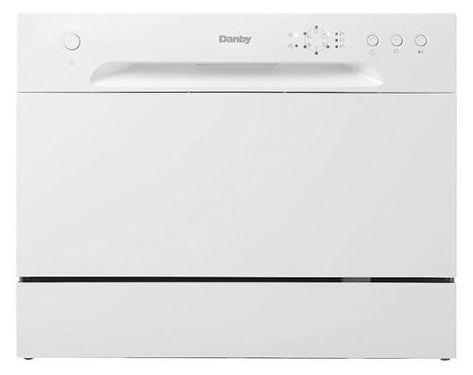New Model Danby Ddw621wdb Countertop Dishwasher White Amazon Best Dishwasher Portable Dishwashers Compact Dishwasher