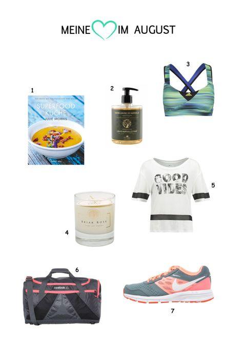Superfoods, Sneakers und Soja-Kerzen.