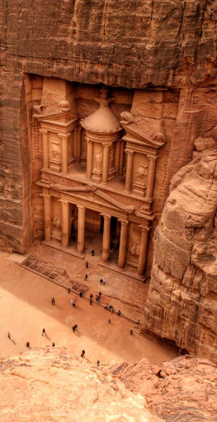 Urn Tomb, Petra, Unesco World Heritage Site, Jordan, Middle East Photographic Print by Sergio Pitami 9 Reasons Why Jordan Is Middle East's Best Kept Secret Middle East Cool Places To Visit, Places To Travel, Places To Go, Travel Destinations, Middle East Destinations, City Of Petra, In Dubai, Jordan Travel, Wadi Rum