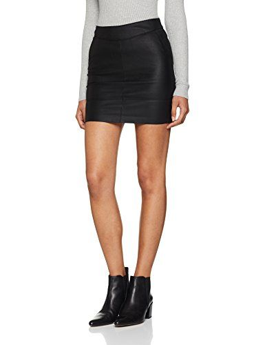 Only Onlbase Faux Leather Skirt OTW Noos Jupe Femme