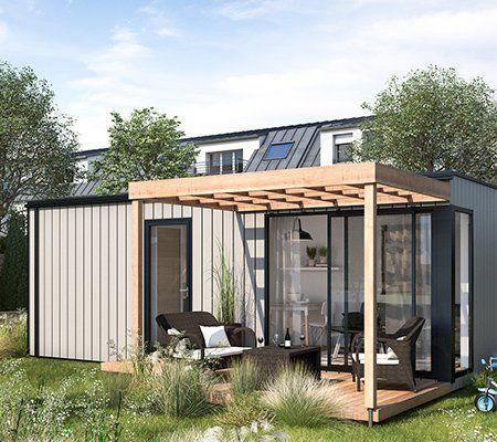 Studio De Jardin Bois Boximby 15 M Leroy Merlin En 2020 Studio De Jardin Briquette De Parement Caillebotis Terrasse