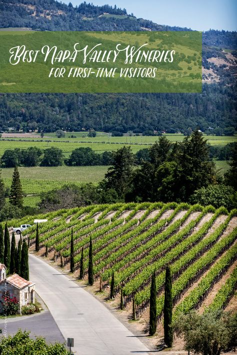 The Best Napa Valley Wineries for First-Time Visitors. #VisitNapaValley