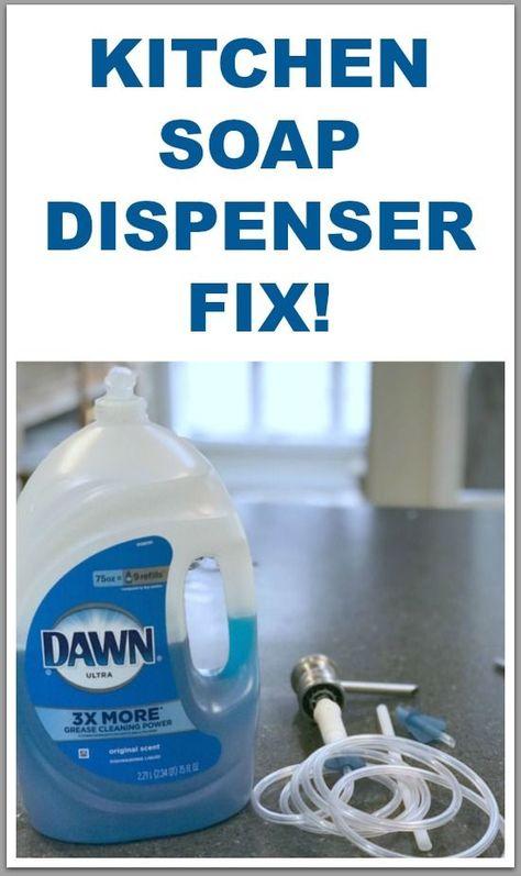 The Never Ending Kitchen Soap Dispenser