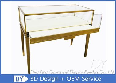 Stainless Steel Jewellery Showcase Furniture Commercial Jewelry