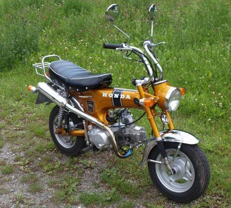 Honda Dax Moped Honda Honda Bikes Honda Motorcycles