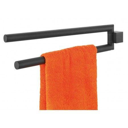 Handtuchhalter Tiger Nomad Metall Schwarz 2 Armig Handtuchhalter
