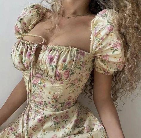 Vintage Cottage Core Style Dress