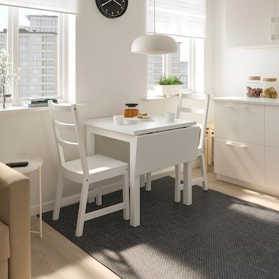 Mini Kitchen Makeover Paint Dipped Ikea Chairs Ikea Hackers Kitchen Table Makeover Table Makeover Small Kitchen Tables