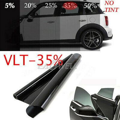 Uncut Roll Window Tint Film 5/% VLT 36 in x 10 Ft Feet Car Home Office Glass
