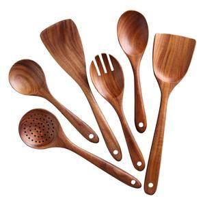 Wooden Kitchen Utensils Spoon Spatula Cooking Utensils Eco Etsy In 2021 Wooden Cooking Utensils Wooden Kitchen Utensils Wooden Cooking Utensils Set