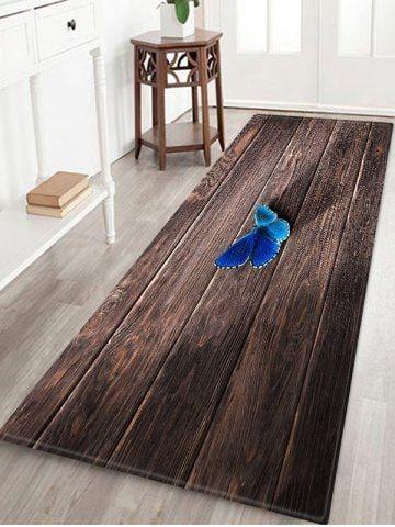 Wood Grain Butterfly 3d Print Floor Rug Rugs On Carpet Floor Rugs Wood Floor Pattern