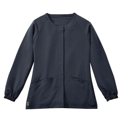 94f6f522417 Addison Ave Scrub Jacket Charcoal Medium, Dark Gray | Products ...