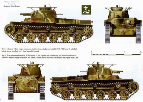Japanese Armour Wwii In 2020 With Images Japanese Tanks