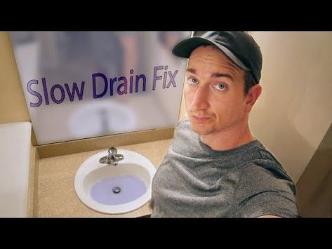 What Is The Best Way To Fix A Slow Sink Drain Bathroom Sink Drain Sink Drain Sink