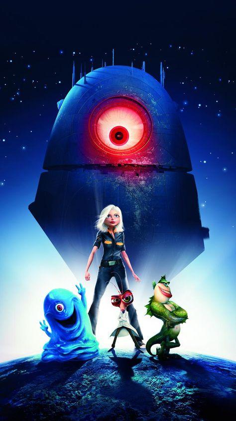Monsters vs Aliens (2009) Phone Wallpaper | Moviemania