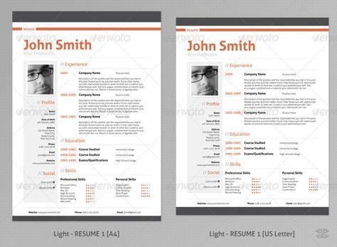 Smart Freebie Word Resume Template - The Minimalist - how to set a resume