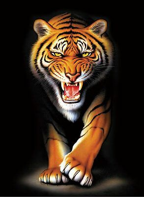 Details About Tiger Lenticular 3d Picture Animal Poster Painting Home Decor Wall Art Decor In 2020 Tiger Artwork Gorillas Art Tiger Art