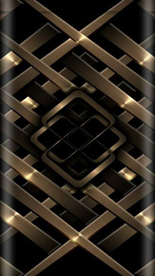 Metal Gold Black Android Wallpaper Gold Wallpaper Wallpaper Edge