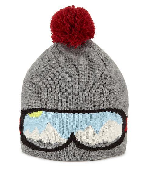 bd47e2e89ce Ski Goggle Beanie Hat £15.00