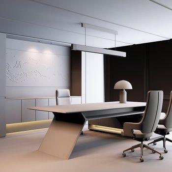 Notitle Industrialofficetable Mainofficetable Officetableantique Officetablediy In 2020 Office Furniture Design Luxury Office Furniture Office Table Design