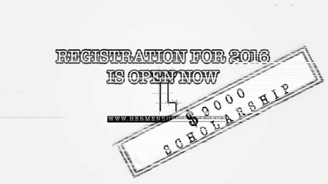 Universal Academy of Hermeneutics Registration form 2016 open 2 - scholarship form