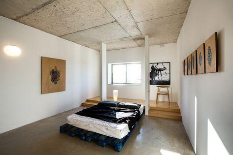 11 camas de palete para inspirar a decoração do seu quarto sustentável - limaonagua