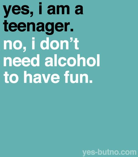 Bieeeen! No necesito alcohol para divertirme;)