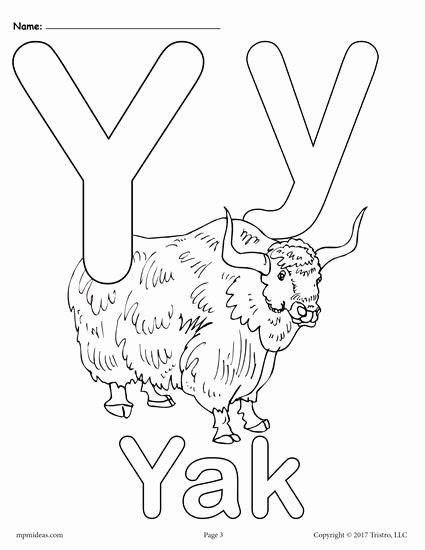 Letter Y Coloring Page Fresh Letter Y Alphabet Coloring Pages 3 Free Printable Versions In 2020 Alphabet Coloring Pages Alphabet Coloring Abc Coloring Pages