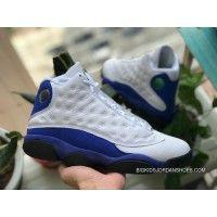 on sale 93414 4181a Aj13 Royal Blue Air Jordan 13 Retro AJ13 Hyper Royal Blue White Blue  414571-117 Size Discount
