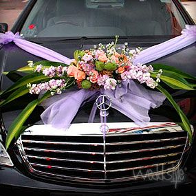 Beautiful Car Decorations Wedding Bells