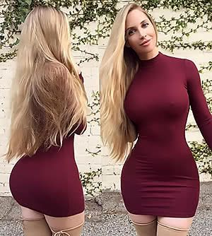 Spicy Angel Amanda Lee Tight Dresses Amanda Lee Women